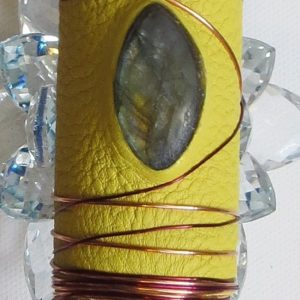 Rutilated Crystal Healing Wand