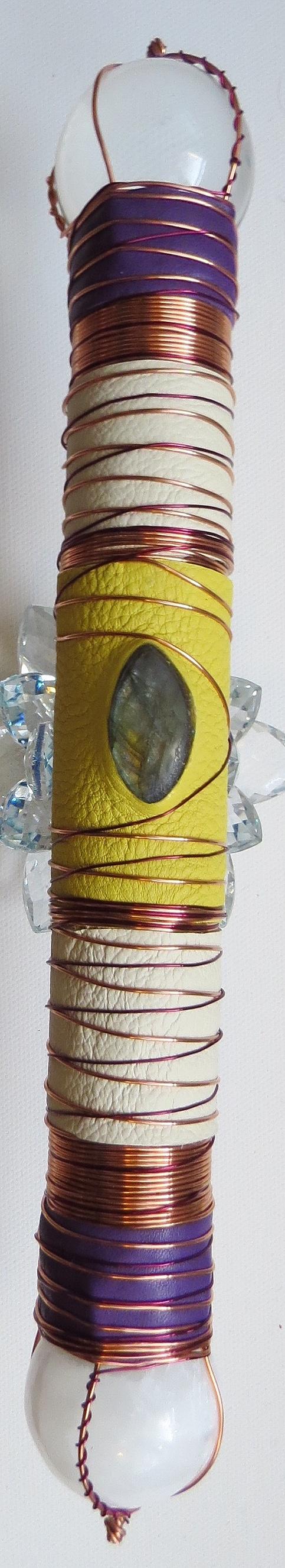 Rutilated Crystal Healing Wand